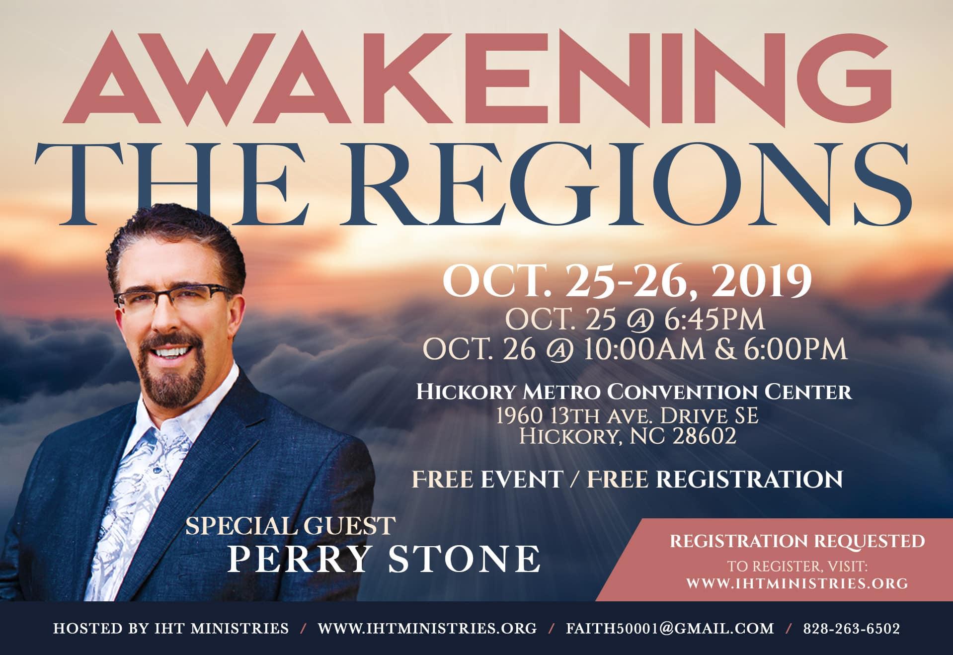 Awakening the Regions w/ Perry Stone