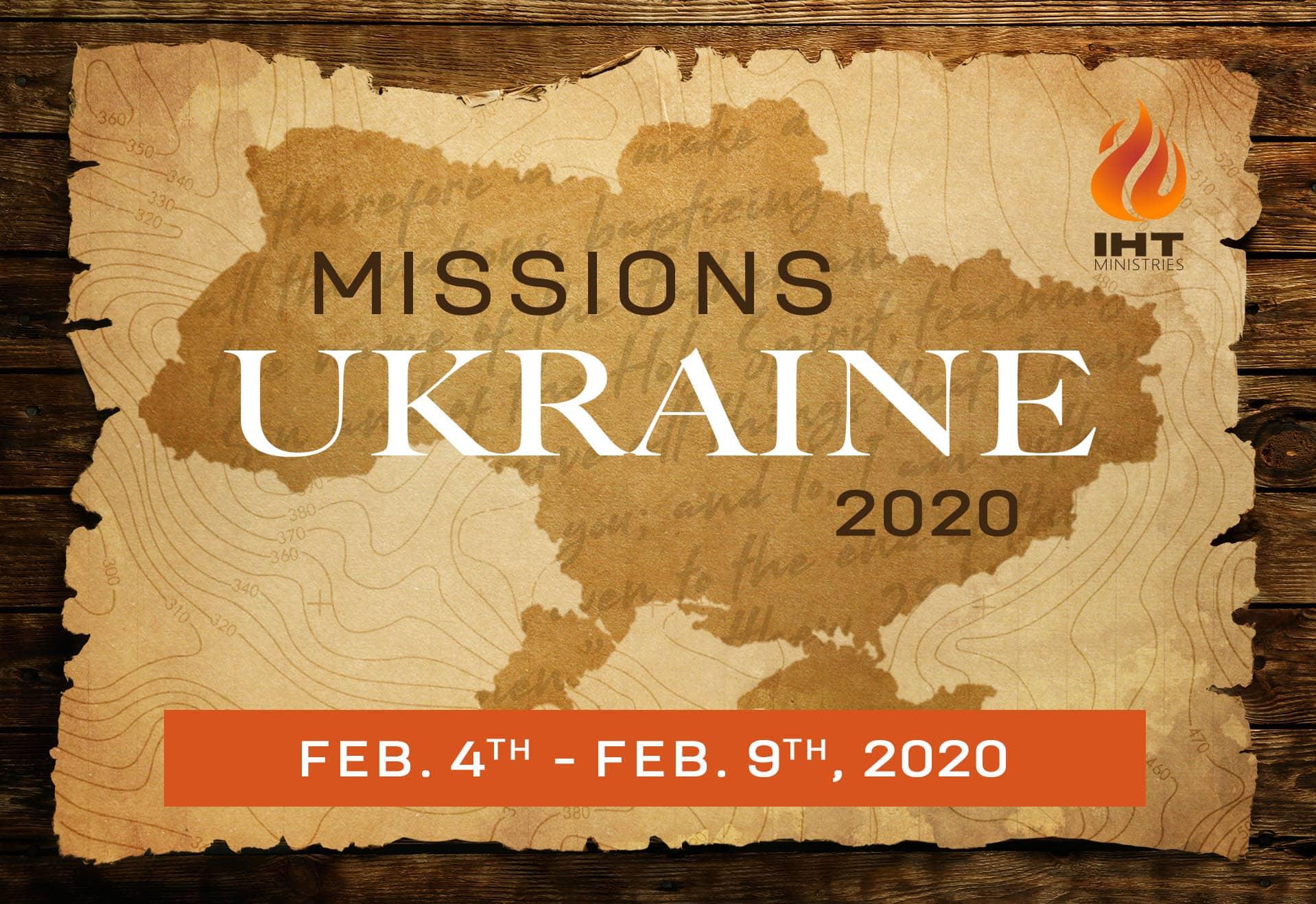 Ukraine Missions 2020